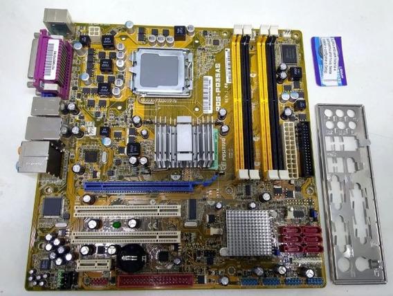 Kit Placa Mãe, Processador E 8 Gigas De Memória