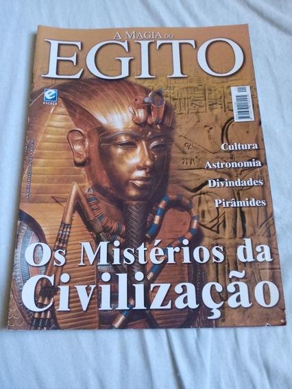 Revista A Magia Do Egito. Os Mistérios Da Civilização.