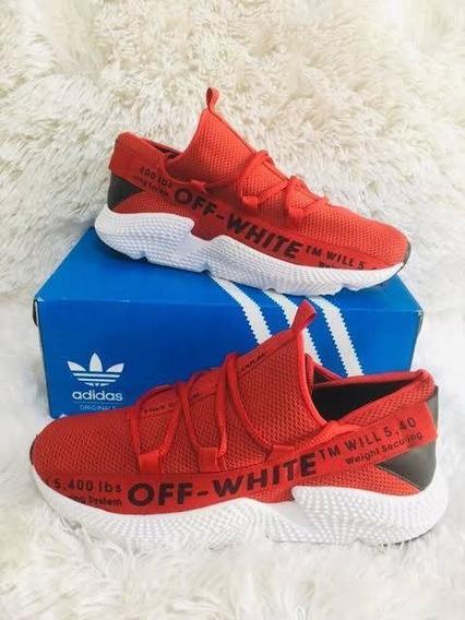 Tênis Off White adidas Vermelho
