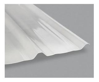 Chapa Trapezoidal Plástica Acrílica Poliacryl G5 X Mt