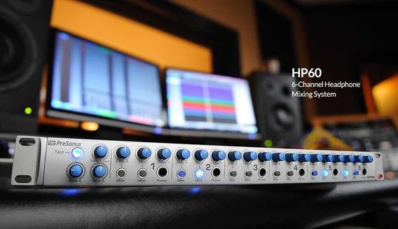 Amplificador De Fones Presonus Hp60