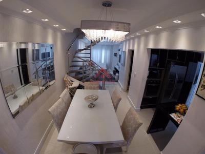 Sobrado Com 3 Dormitórios À Venda, 120 M² Por R$ 635.000 - Chácara Faggion - Suzano/sp - So0107