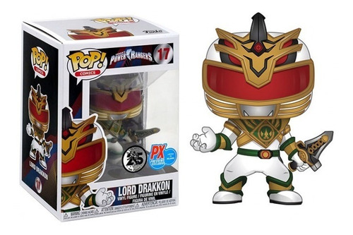 Funko Pop Power Rangers - Lord Drakkon #17 Exclusive Px