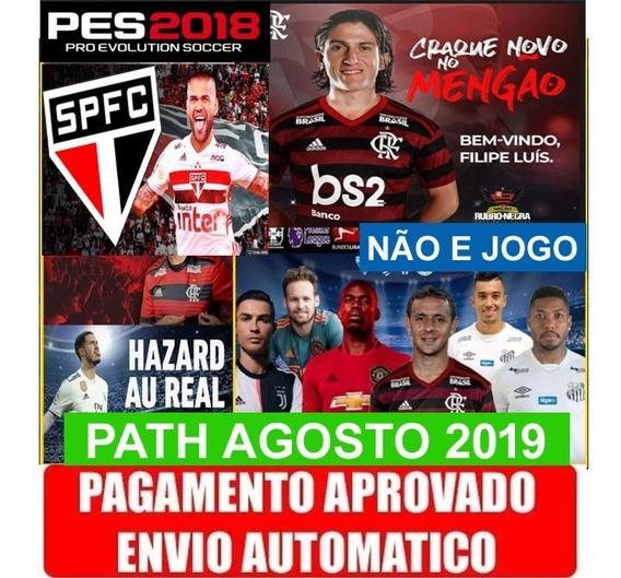 Patch - Atualização - Pes 2018 Ps3 - Brasilerão 2019