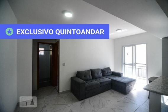 Apartamento No 1º Andar Mobiliado Com 1 Dormitório E 1 Garagem - Id: 892906802 - 206802