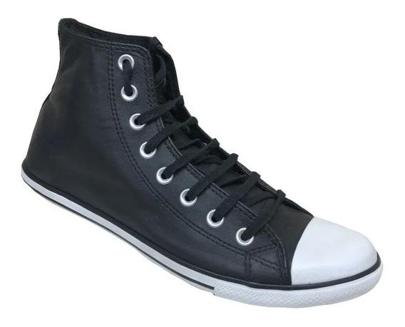 Zapatillas Converse All Star Bota Slim Cuero- Envio Gratis