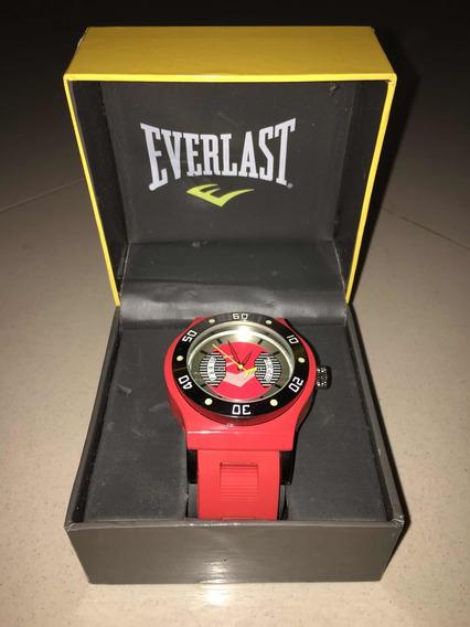 Relógio Everlast Masculino Vermelho