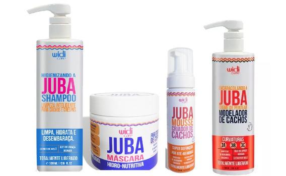 Widi Care Juba Shampoo, Encaracolando, Mascara, Mousse