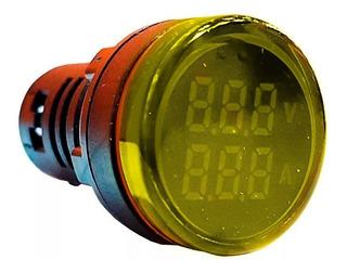 Voltimetro Y Amperimetro 220v Led Digital Zurich 100a