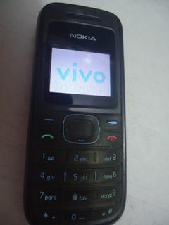 Celular Nokia 1208 Vivo Funcionado Sem Carregador