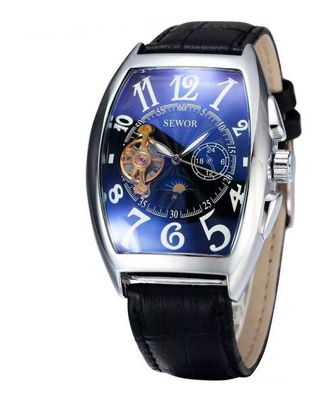 Relógio Masculino Automático Executivo De Luxo Elegante A Prova D