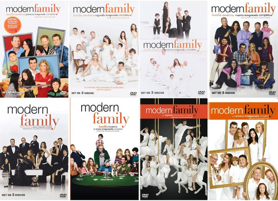 Modern Family Paquete Temporadas 1 2 3 4 5 6 7 8 Dvd