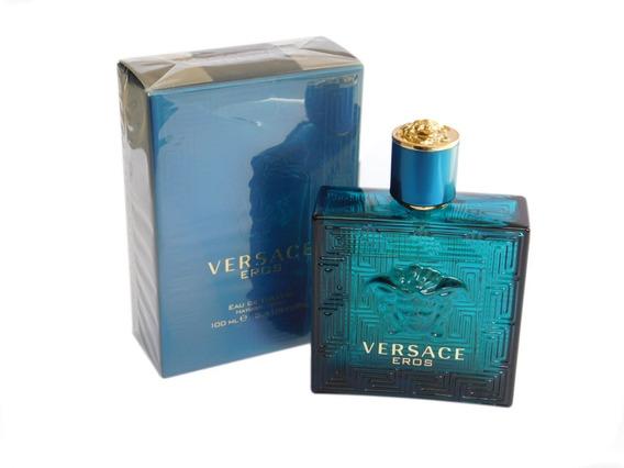 Perfume Eros Versace Eau De Toilette 100 Ml Masculino