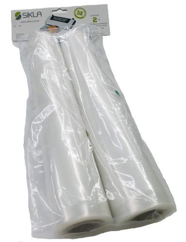 Repuesto Pack 2 Rollos De Bolsas Envasadora Al Vacío - Sikla