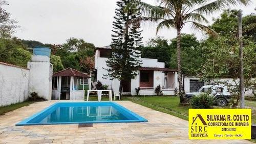Imagem 1 de 15 de Itaocaia Valley- Chácara 1.300 M² Com 2 Casas Simples - R$ 290 Mil - 475