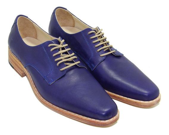 Zapato Acordanado Suela Azul - Calzados Union