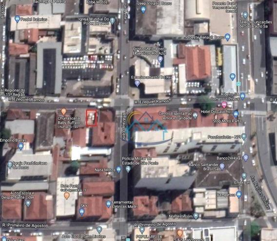 Terreno Centro Da Cidade De Bauru - Te0016