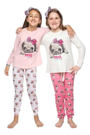 Pijama Nena Niña Invierno Abrigado