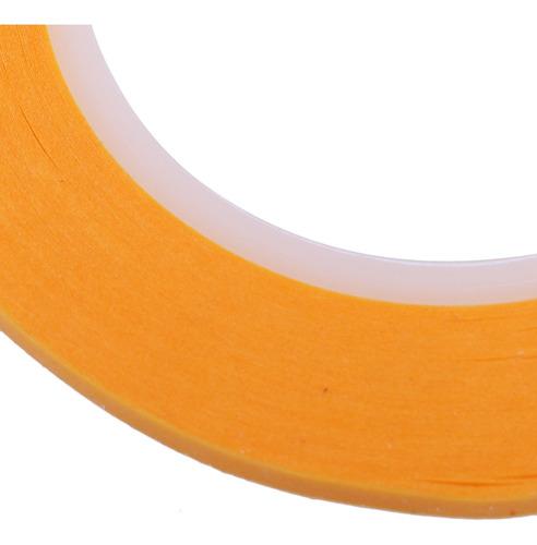 4x Fita Adesiva 2mm X 19 7 Rolos De Jarda Para Pintura Pape Mercado Livre
