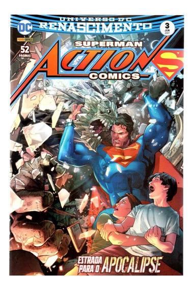 Superman Action Comics 3 - Panini 03 - Bonellihq Cx452 H18