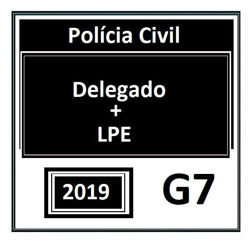 Delegado G7 2019 Com Brinde