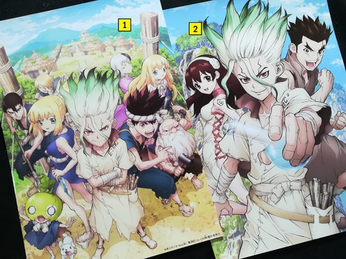 Posters A3 29x42cm Anime Dr. Stone #1 / Niponmania