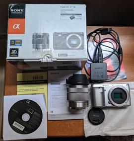 Sony Nex F3 16.1 Mpx, Semi Prof, 10k Clicks, Caixa E Manuais