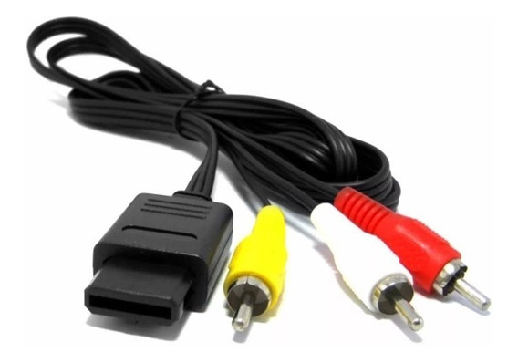 Cabo Audio Video Super Nintendo Nintendo 64 Imagem