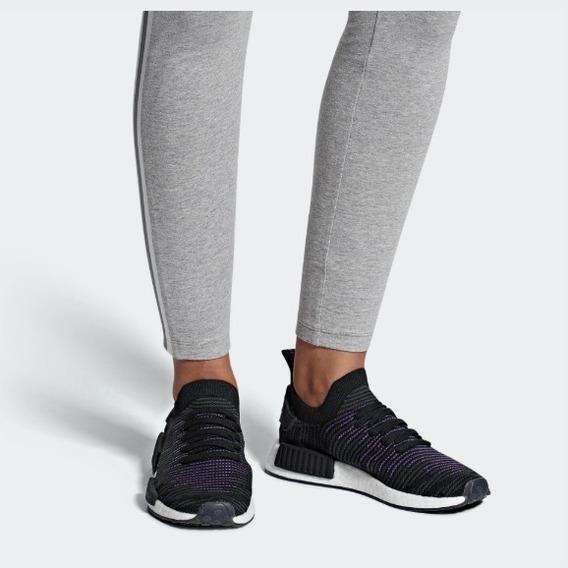 Tênis adidas Nmd_r1 Stlt Primeknit Feminino Preto