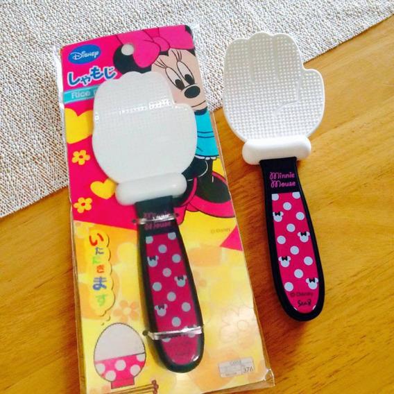 Colher Arroz Minie Disney Original Importado Daiso Japan