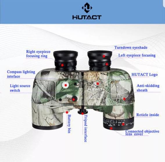 Binóculo Militar 10x50 Telescópio Hutack À Prova D