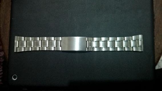 Pulseira De Relógio Em Aço Inox 22mm