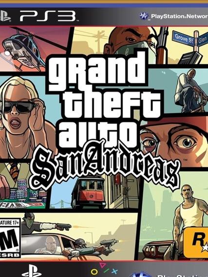 S3 Gta San Andreas Grand Theft Auto Original Mídia Digital