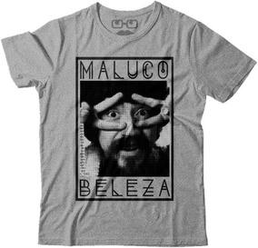 Camisetas Raul, Musica, Humor, Frases, Maluco Beleza