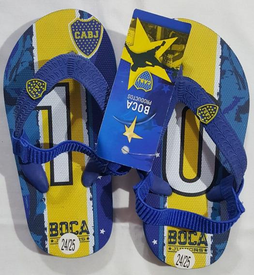 Ojotas Para Niños De Boca Juniors Oficial 24/25 Y 26/27