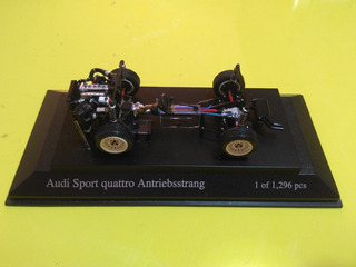 Audi Quattro S1 Powertrain 1/43 Minichamps