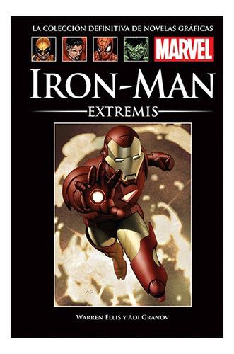 Imagen 1 de 1 de Colección Novelas Gráficas Marvel El Tiempo - Iron Man