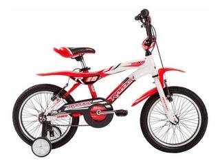 Bicicleta Niño Raleigh Mxr16 Rodado 16 Aluminio 4 Años O Mas