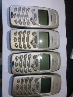 Lote 4 Celulares Nokia 3310 Defeito Ler Descrição 5/18