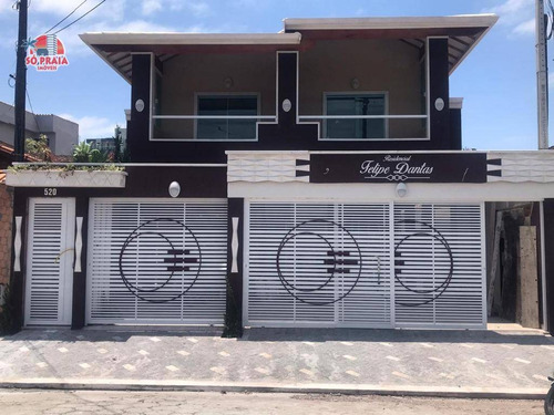 Imagem 1 de 19 de Casa Com 2 Dormitórios À Venda, 84 M² Por R$ 320.000,00 - Caiçara - Praia Grande/sp - Ca5158