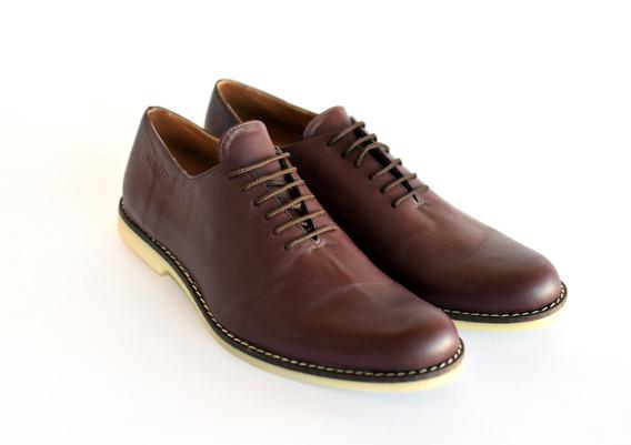 Zapatos De Cuero Hombre - Directo De Fábrica