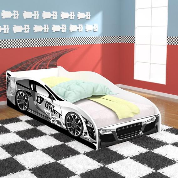 Cama Em Formato De Carro 100% Mdf Infantil - Vários Modelos