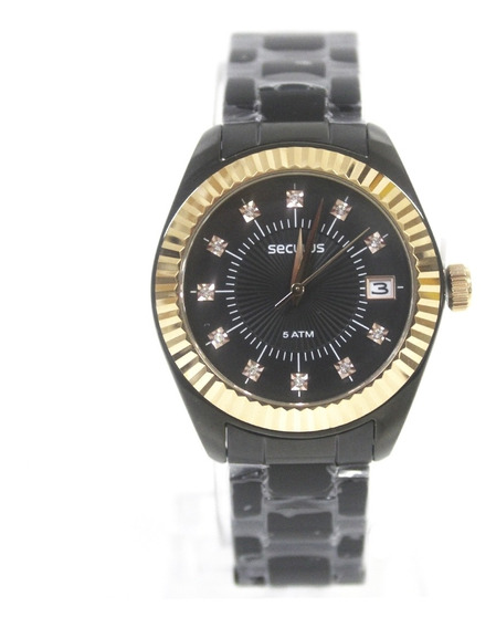 Relógio Feminino Seculus 13019lpsvis4