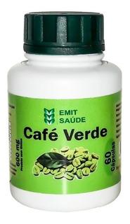 Café Verde -120 Potes -60 Capsulas -500mg -emit Saude