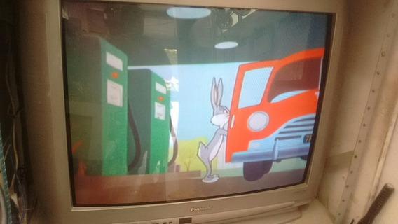 Tv Panasonic Tubo 33 Pol. Otimo Estado Retirada Em Diadema Taboão