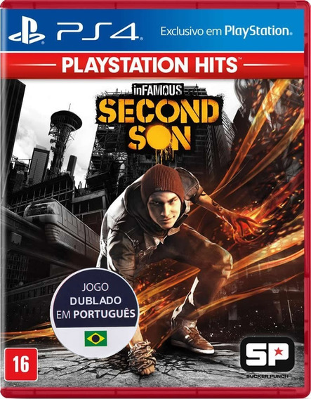 Infamous: Second Son - Português - [ps4] Lacrado