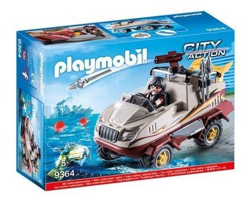 Playmobil Action Caminhão Anfibio Fugitivo Sunny 9364