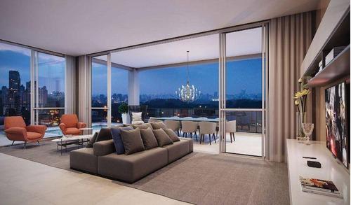 Imagem 1 de 16 de Apartamento Com 4 Dormitórios À Venda, 163 M² Por R$ 4.515.000,00 - Moema - São Paulo/sp - Ap3281