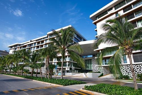 Imagen 1 de 12 de Departamento En Venta En Cancun, En Allure Puerto Cancun