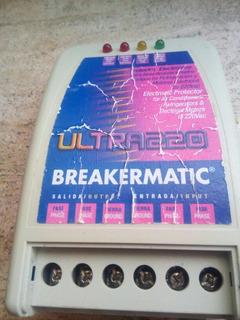 Protector Brekermatic Ultra220 Para Ac. Y Refrigeracion